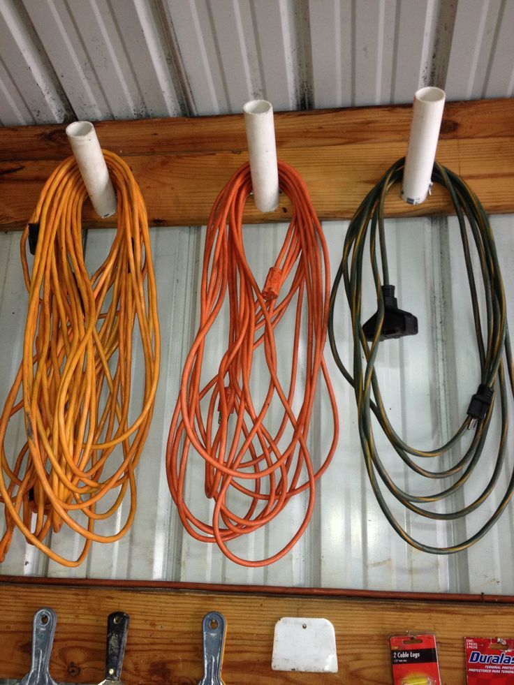 extension cord organizer Shed Storage Ideas: 7 Tips on How to Get the Most Out of Your Shed
