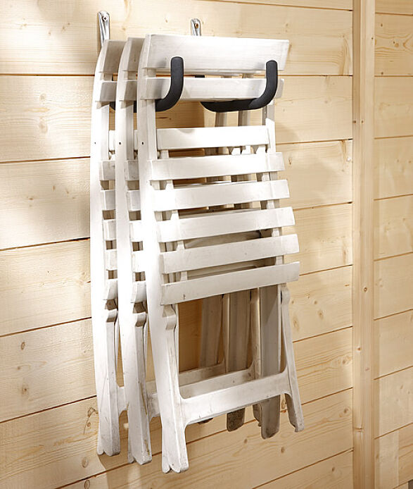 garden furniture wall hook Shed Storage Ideas: 7 Tips on How to Get the Most Out of Your Shed