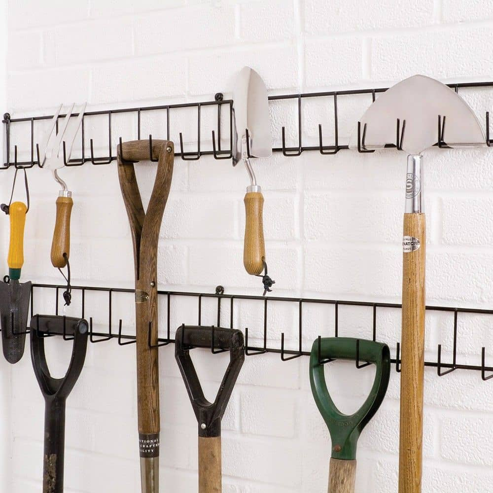 garden shed storage ideas tool racks Shed Storage Ideas: 7 Tips on How to Get the Most Out of Your Shed