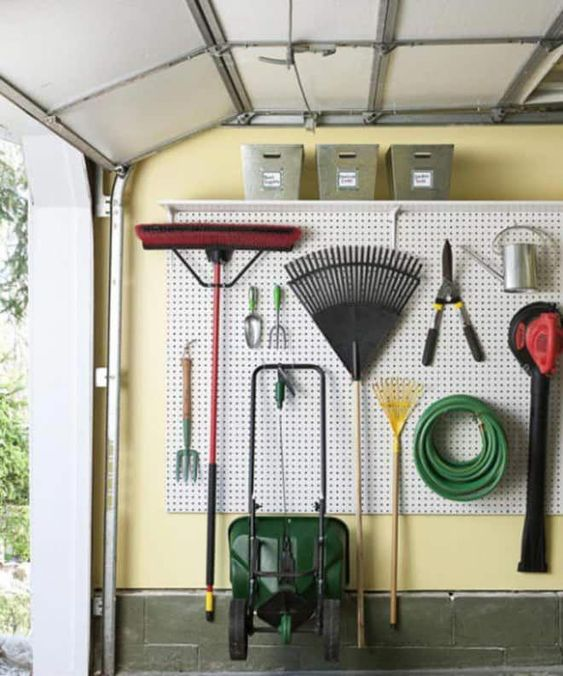 garden storage ideas tool organizer Shed Storage Ideas: 7 Tips on How to Get the Most Out of Your Shed