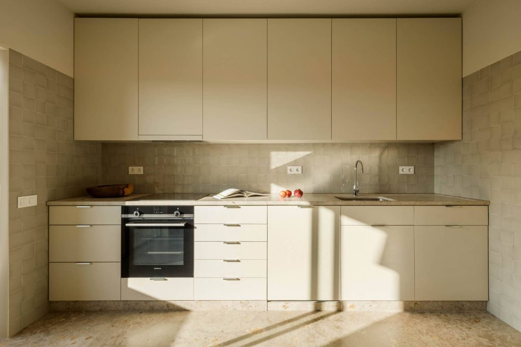 kitchen 1024x683 Subtle Apartment Renovation by Costa Lima Arquitectos
