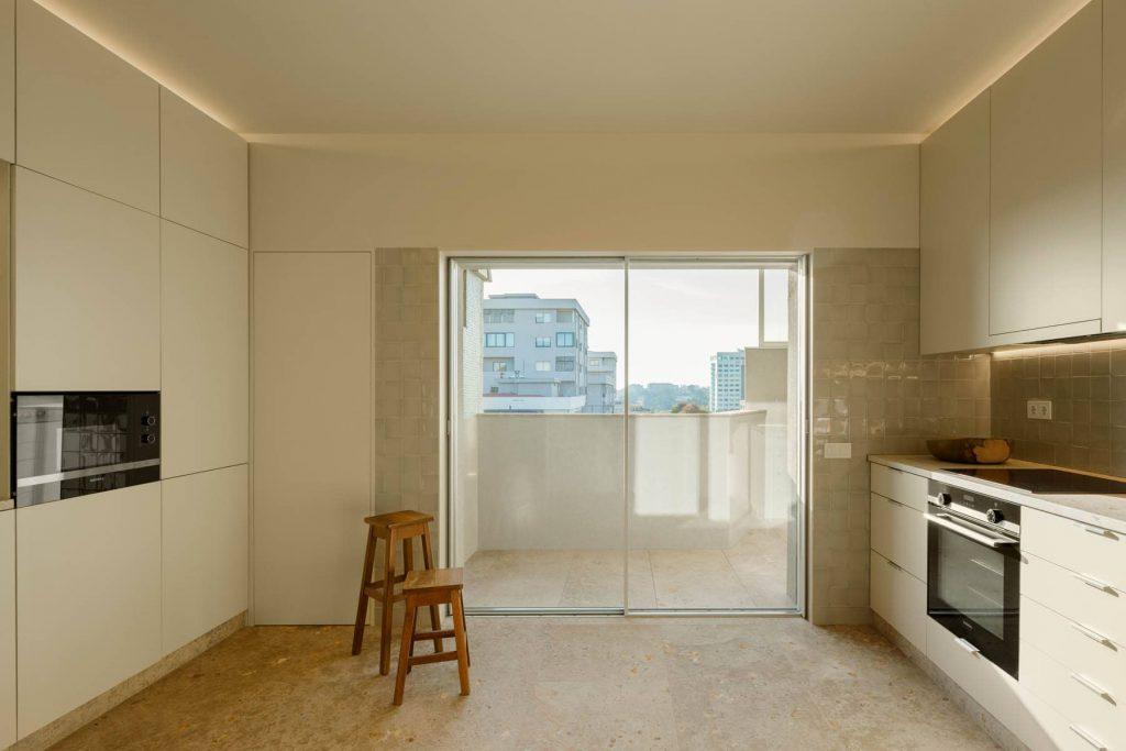 kitchen area 1024x683 Subtle Apartment Renovation by Costa Lima Arquitectos