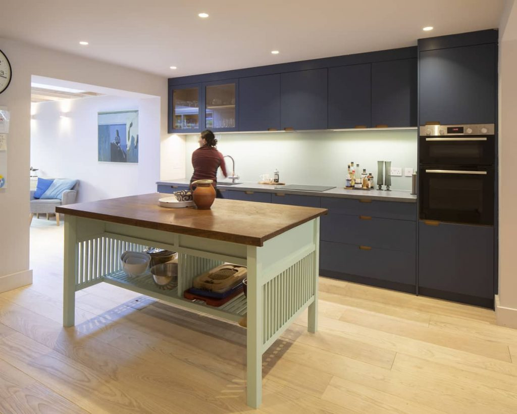 kitchen space 1024x819 Extension of a Victorian House in London by Sam Tisdall Architects
