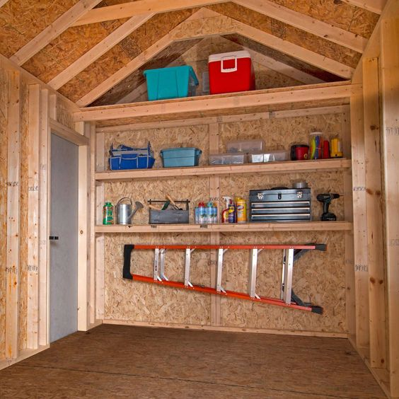 neatly organized garden shed Shed Storage Ideas: 7 Tips on How to Get the Most Out of Your Shed