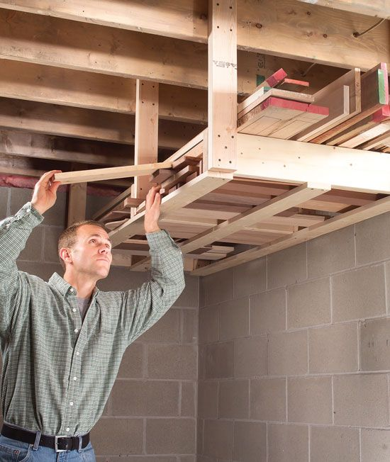 overhead shed storage idea Shed Storage Ideas: 7 Tips on How to Get the Most Out of Your Shed