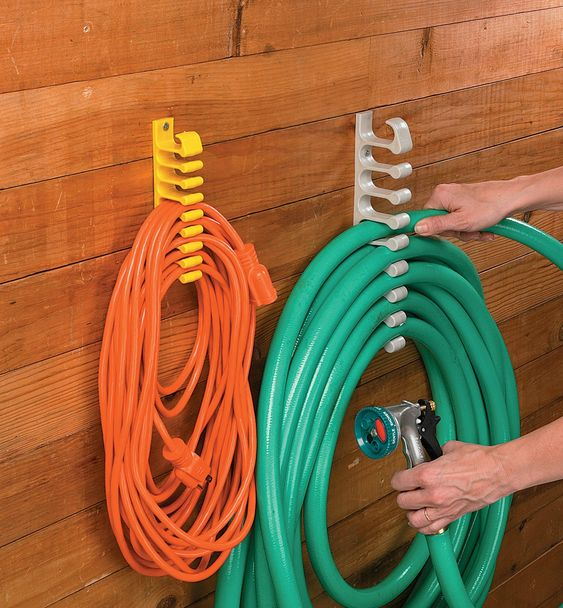 simple hose hanger Shed Storage Ideas: 7 Tips on How to Get the Most Out of Your Shed