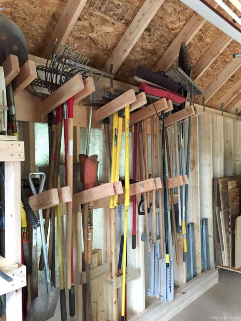 smart garden shed storage idea 768x1024 Shed Storage Ideas: 7 Tips on How to Get the Most Out of Your Shed