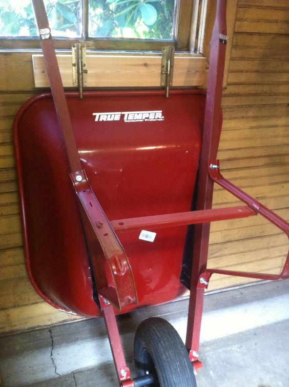 wheelbarrow shed storage idea Shed Storage Ideas: 7 Tips on How to Get the Most Out of Your Shed