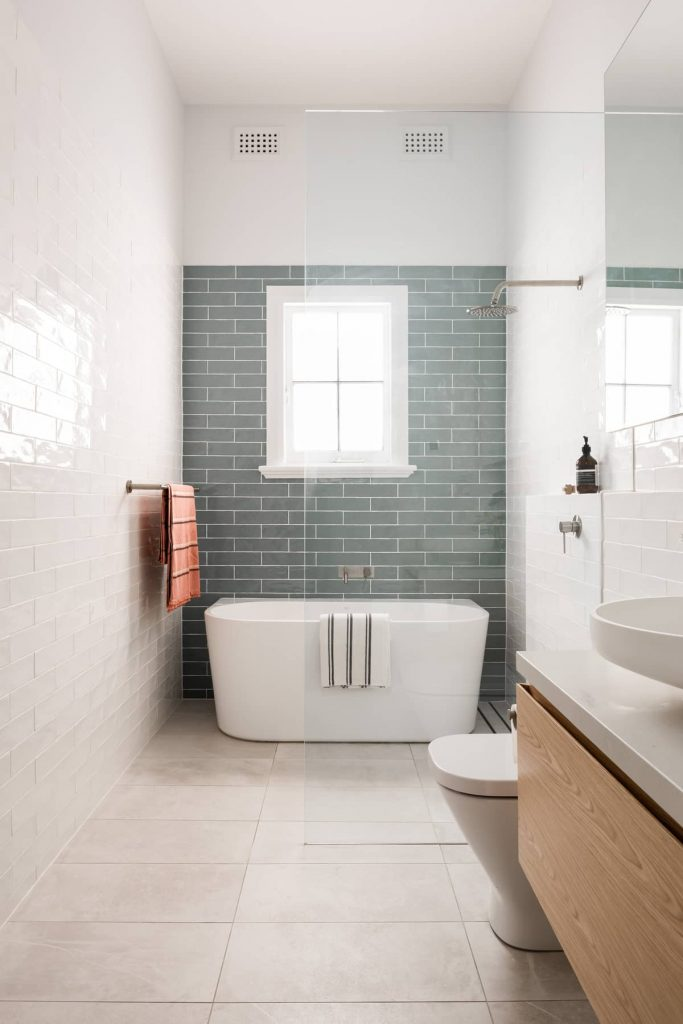 bathroom 683x1024 A Modernization of a Character Home by Mountford Architects