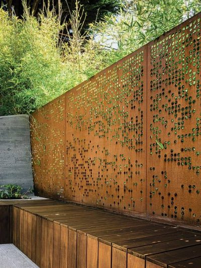 14 Patio Wall Ideas That Will Make Your Outdoor Space More Attractive