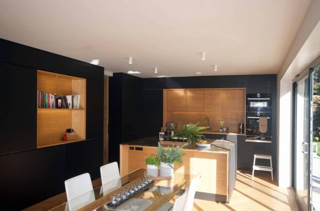 dining and kitchen space 1024x678 A Reinvigoration of a 1960s Detached House by Alter & Company