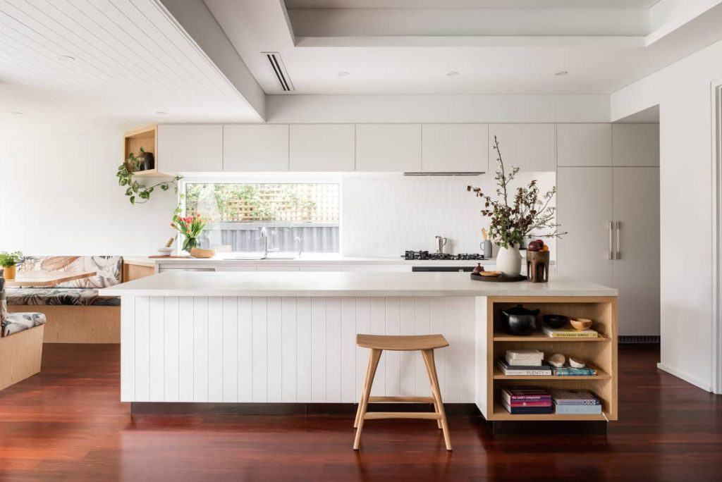 flexible dining area 1024x684 A Modernization of a Character Home by Mountford Architects