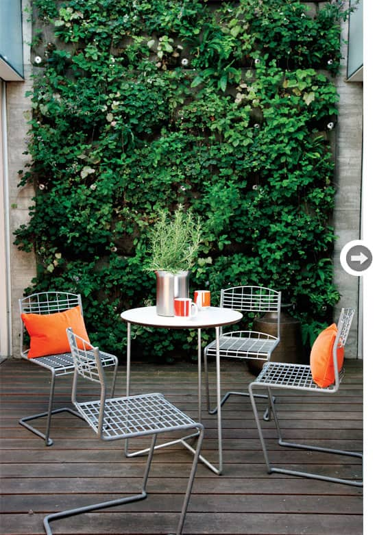 greenery 14 Patio Wall Ideas That Will Make Your Outdoor Space More Attractive