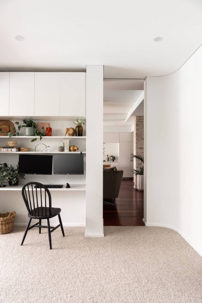 home office 683x1024 A Modernization of a Character Home by Mountford Architects