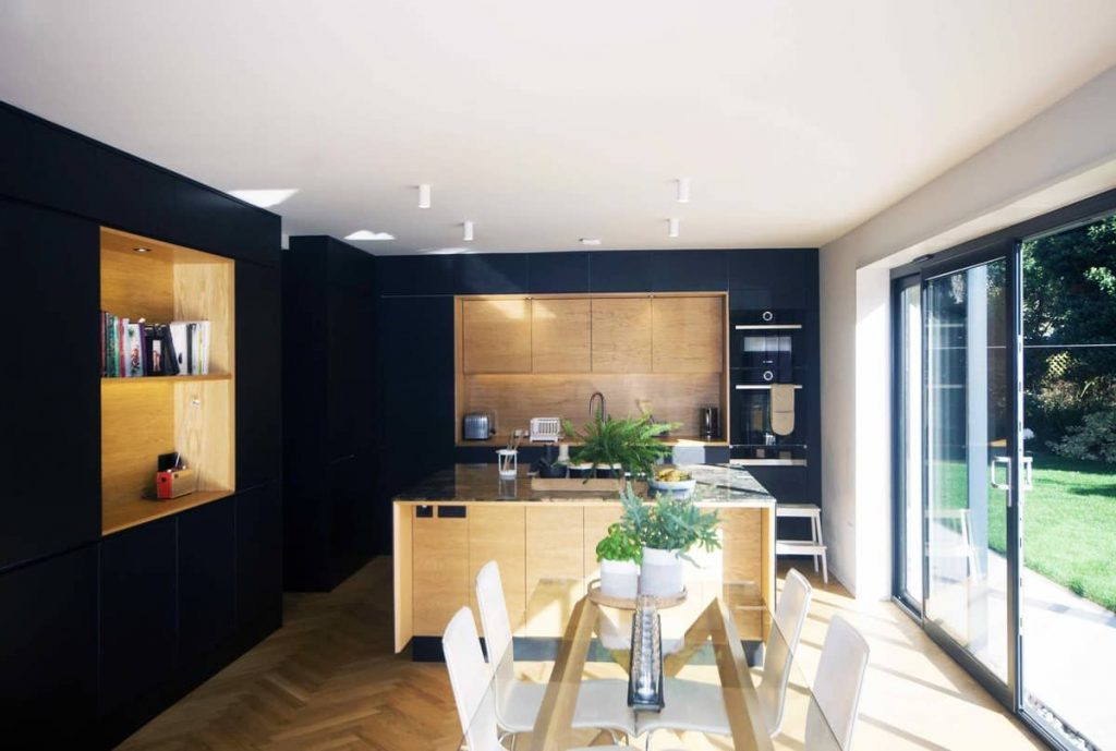 kitchen 1 1024x689 A Reinvigoration of a 1960s Detached House by Alter & Company