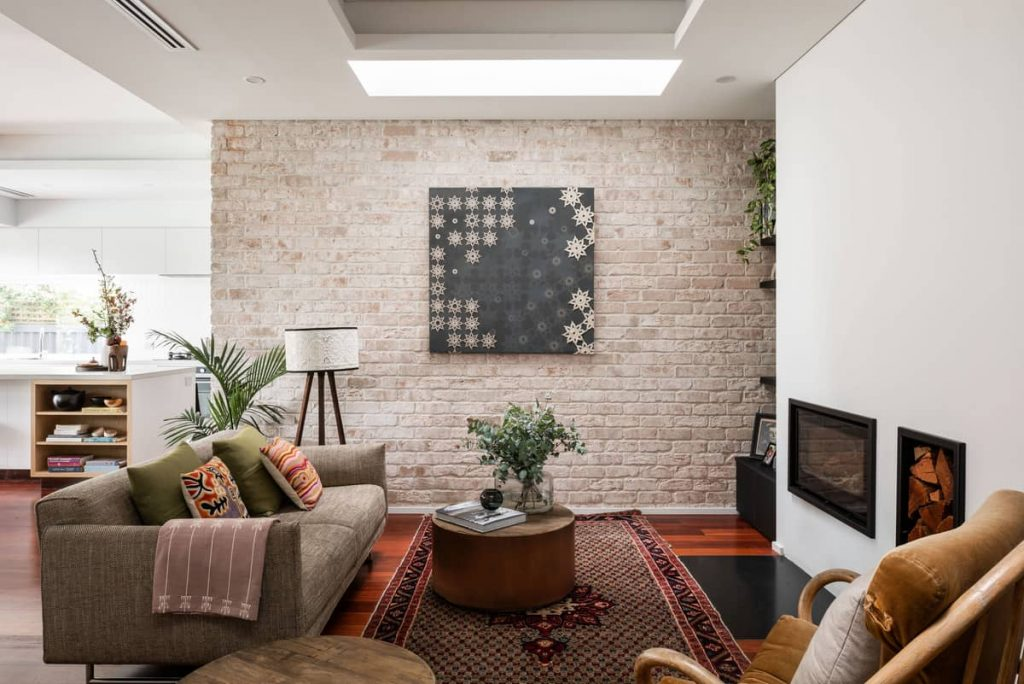 living room 1 1024x684 A Modernization of a Character Home by Mountford Architects