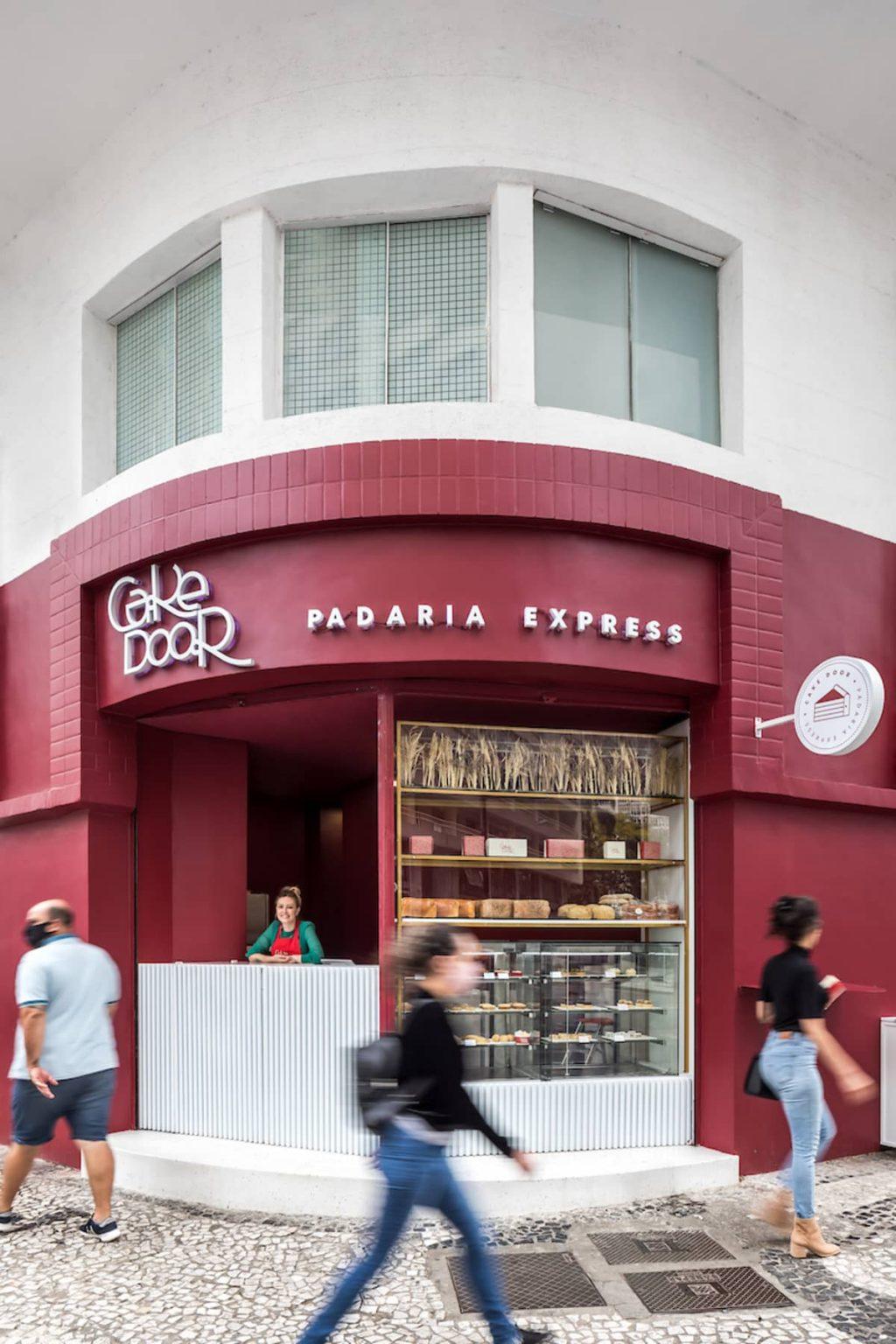 Cake Door – a Corner Bakery by BOSCARDIN CORSI Architects