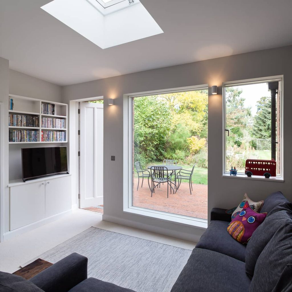 central rooflight 1024x1024 A Renovation of a Detached House in a Cambridge Conservation Area