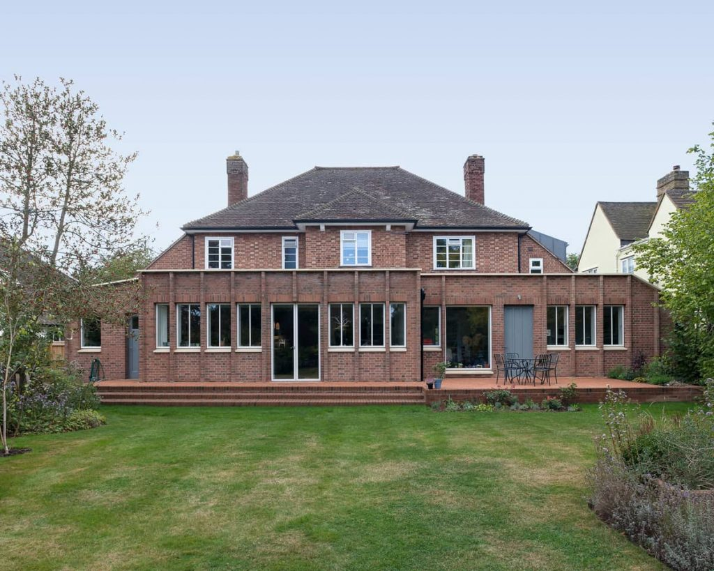 curb appeal 1024x819 A Renovation of a Detached House in a Cambridge Conservation Area