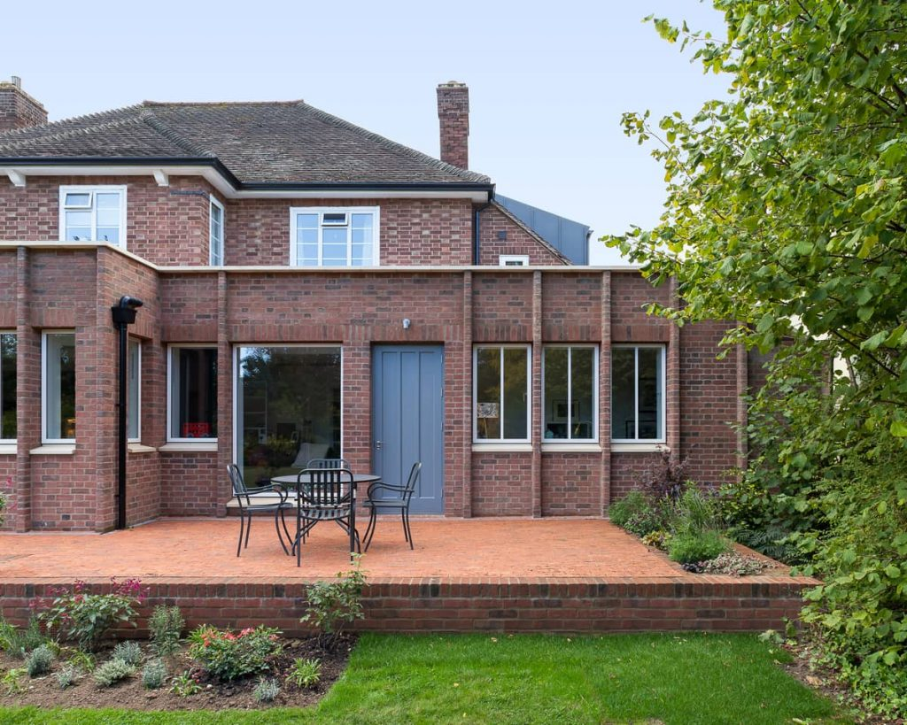 deck and garden 1024x819 A Renovation of a Detached House in a Cambridge Conservation Area