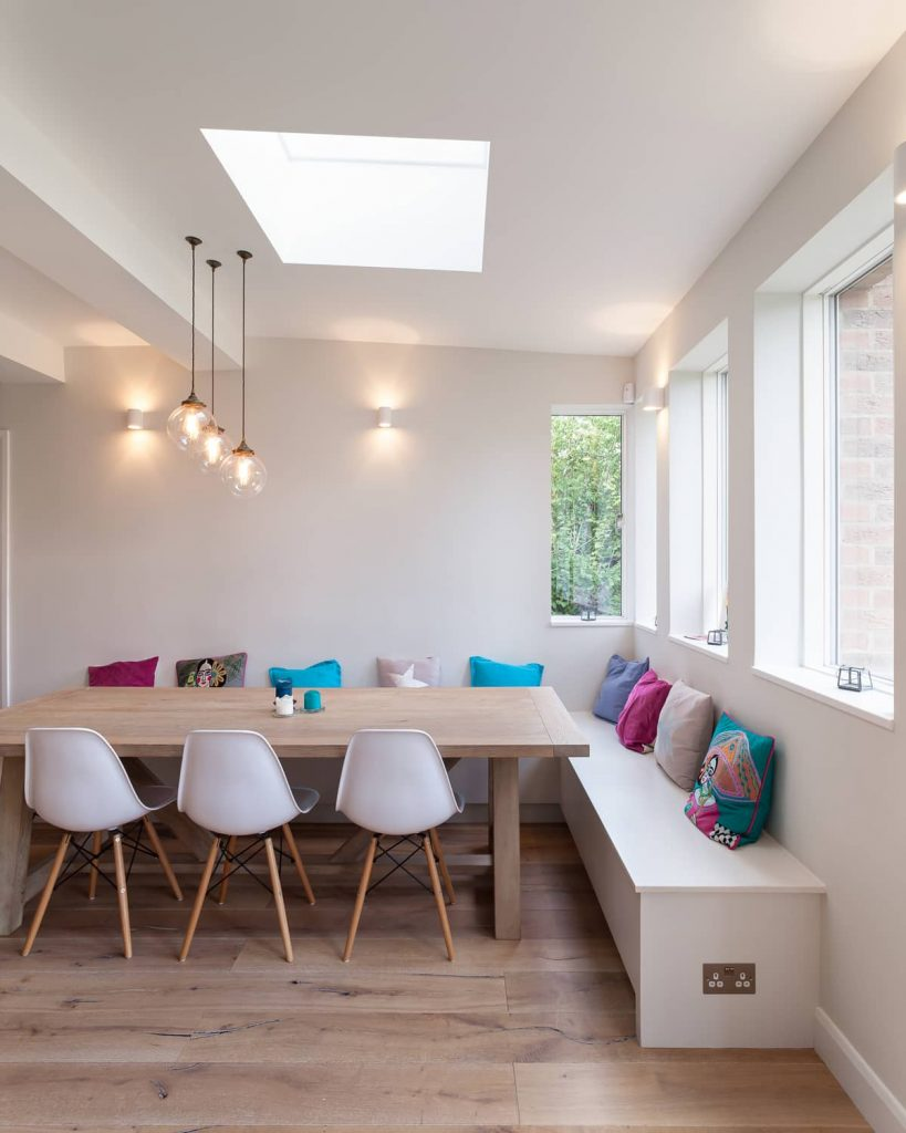 dining space 819x1024 A Renovation of a Detached House in a Cambridge Conservation Area