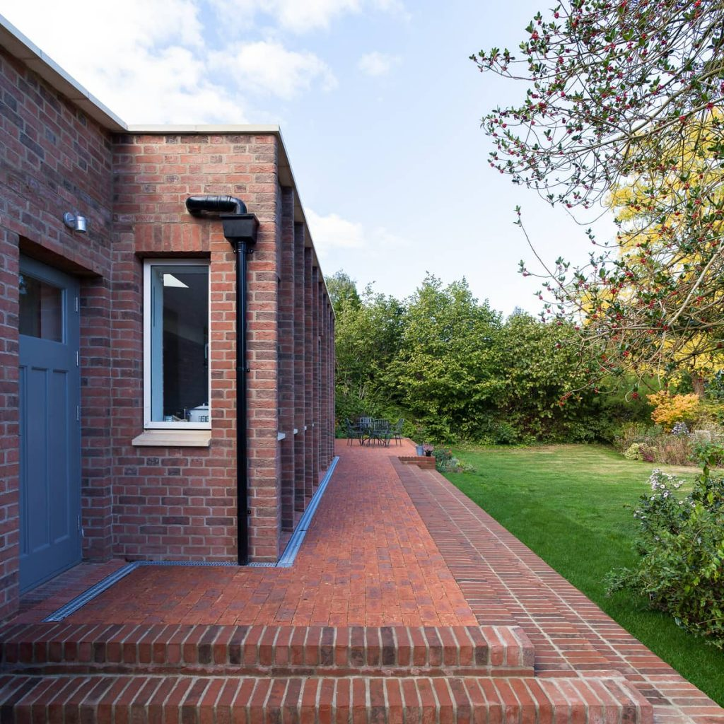 entrance to the backyard 1024x1024 A Renovation of a Detached House in a Cambridge Conservation Area