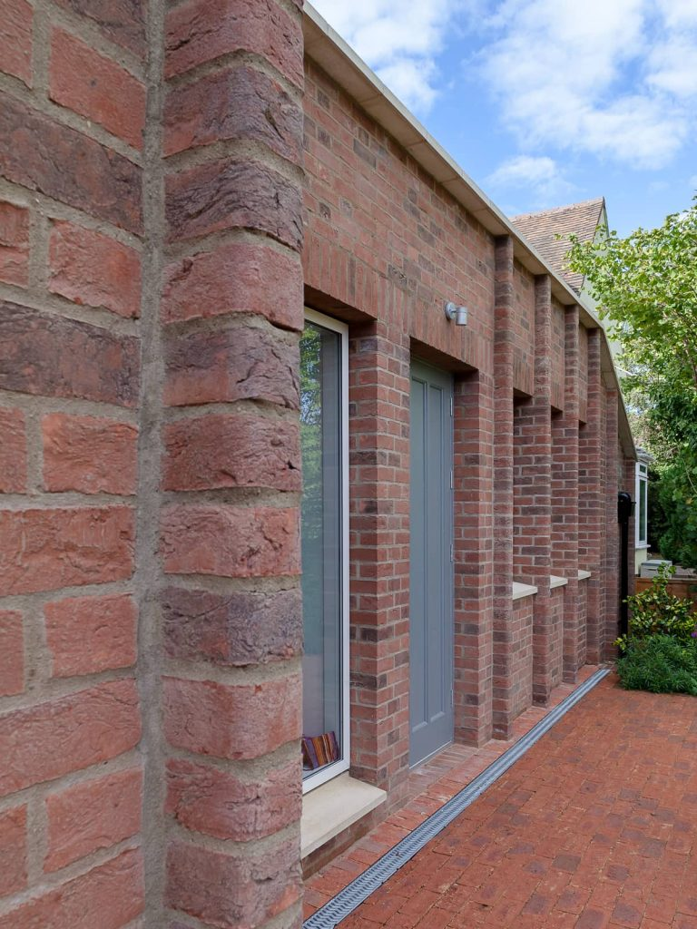 hand made bricks with cownose curved ends 768x1024 A Renovation of a Detached House in a Cambridge Conservation Area