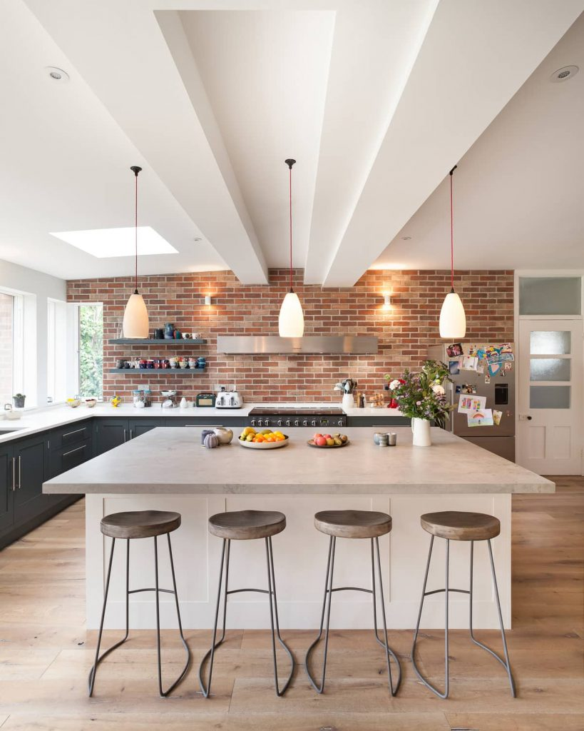 kitchen 819x1024 A Renovation of a Detached House in a Cambridge Conservation Area