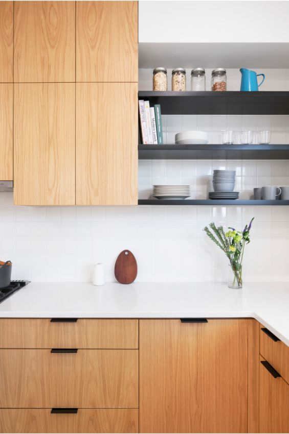 kitchen detail 100 Year Old Townhouse Renovation by Studio Officina Architecture