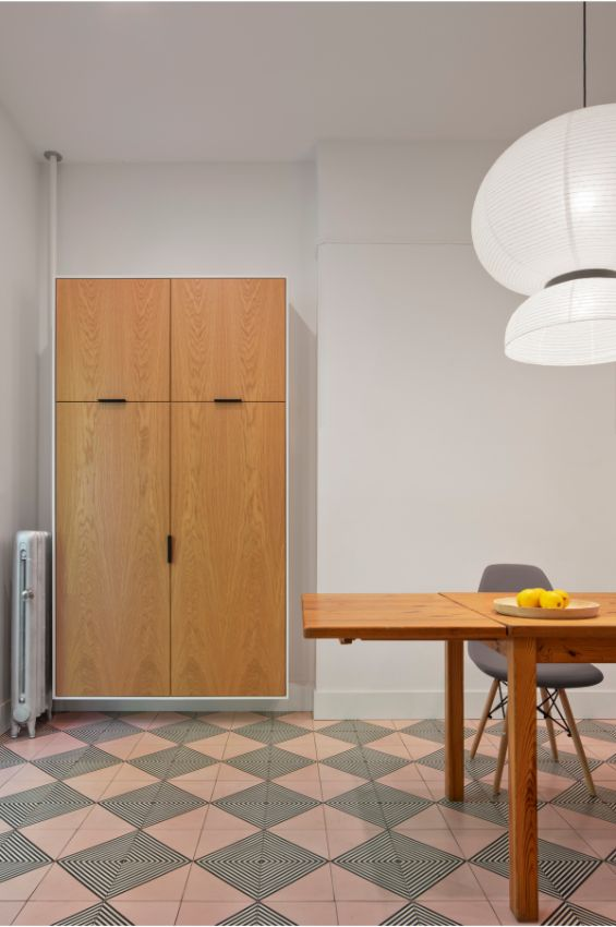 kitchen storage 100 Year Old Townhouse Renovation by Studio Officina Architecture