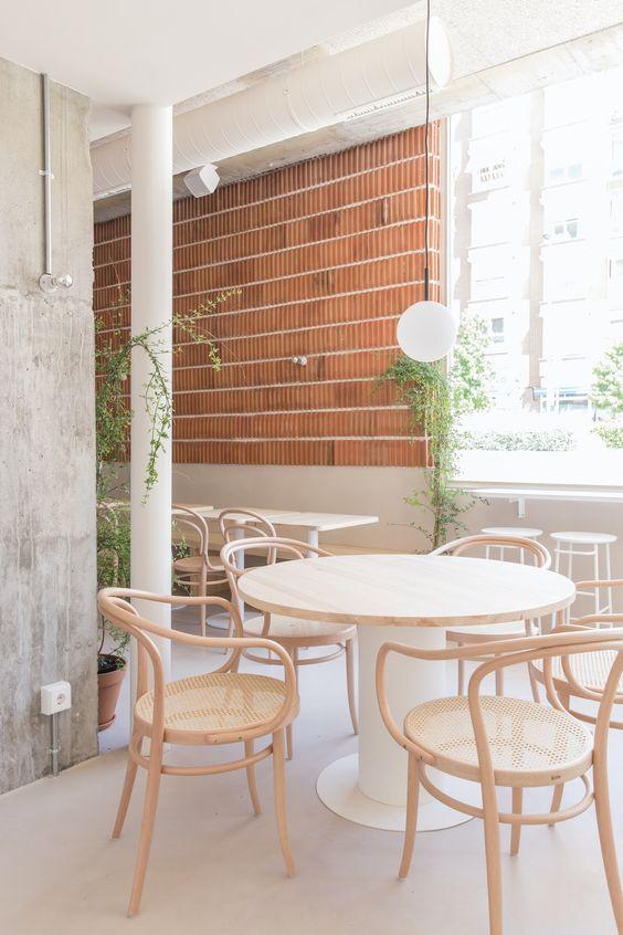minimalist restaurant interior idea 9 Small Restaurant Design Ideas for Your First Business