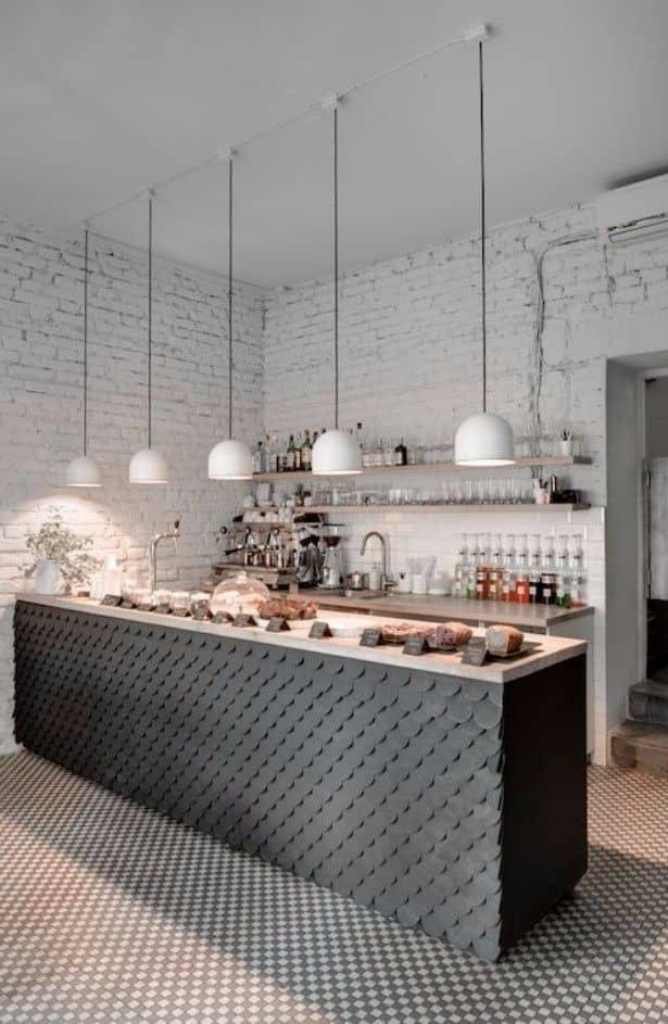 minimalist white restaurant interior idea 9 Small Restaurant Design Ideas for Your First Business