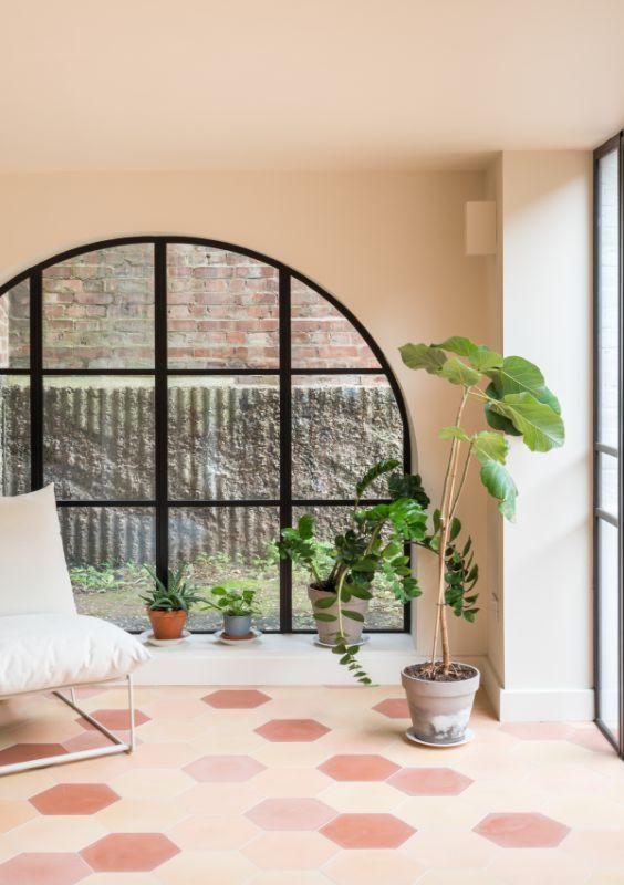 arched window Field House by Bradley Van Der Straeten Architects