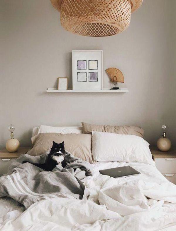 beige toned bedroom 6 Relaxing Bedroom Colors for Better Sleep