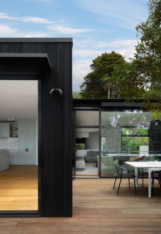 deck The Beach House by Corke Design Studio