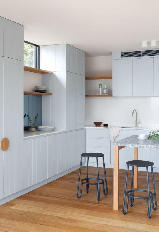 kitchen The Beach House by Corke Design Studio