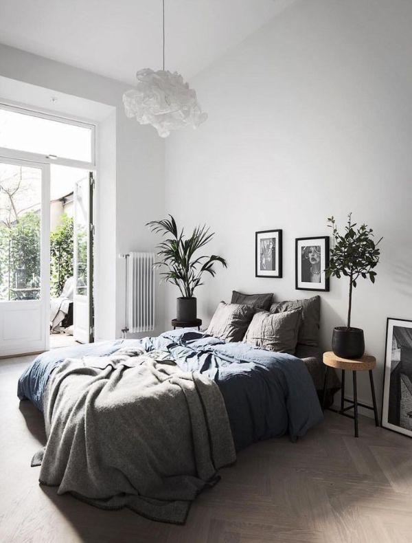 light grey relaxing bedroom 6 Relaxing Bedroom Colors for Better Sleep
