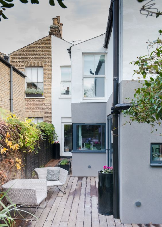 original victorian facade Alloway Road Transformation by George & James Architects