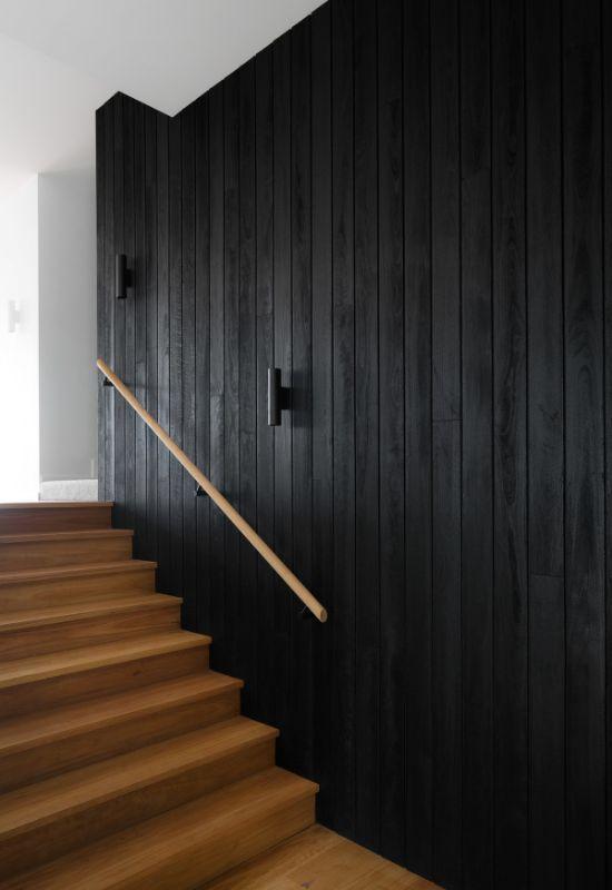 split level staircase The Beach House by Corke Design Studio