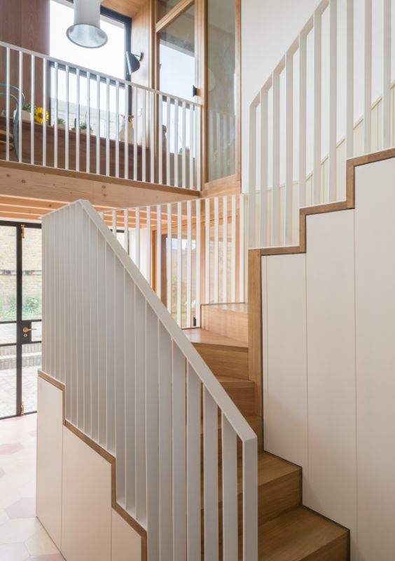triple height space Field House by Bradley Van Der Straeten Architects