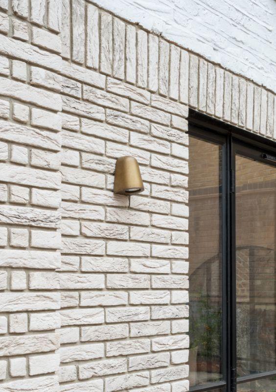 white bricks Field House by Bradley Van Der Straeten Architects