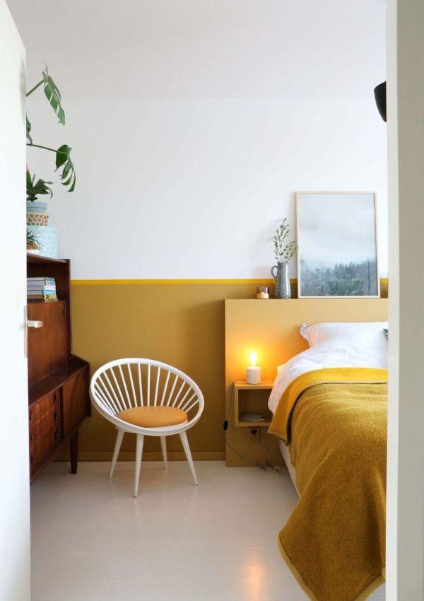 yellow relaxing bedroom color 6 Relaxing Bedroom Colors for Better Sleep