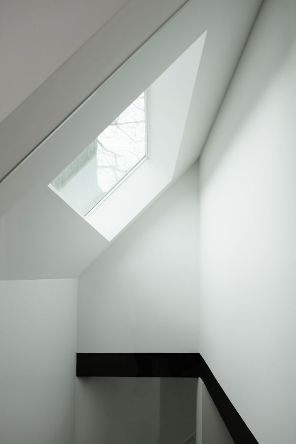atrium from office 95 Mackay Laneway House by Gabriel Fain Architects