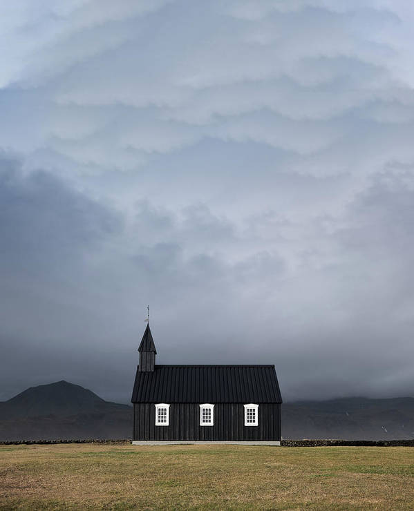 black church of budir norway 10 Bedroom Wall Art Pieces That Will Brighten Your Mornings