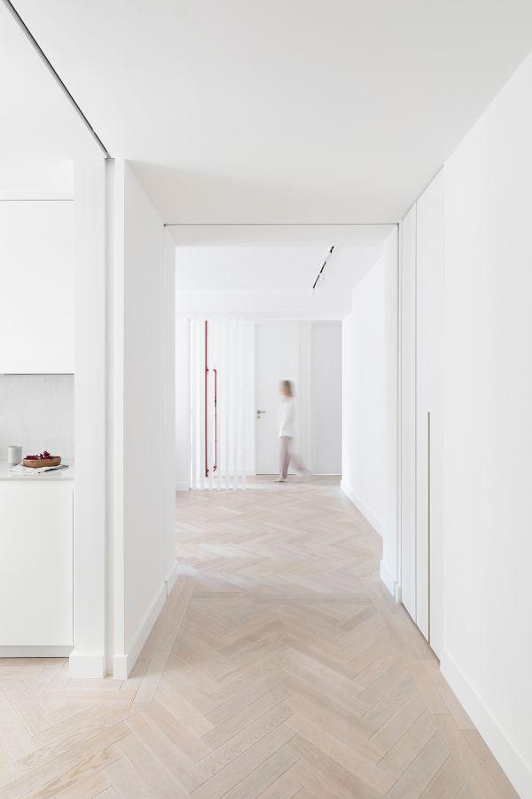 An 80sqm Apartment Renovation by Brosh Architects