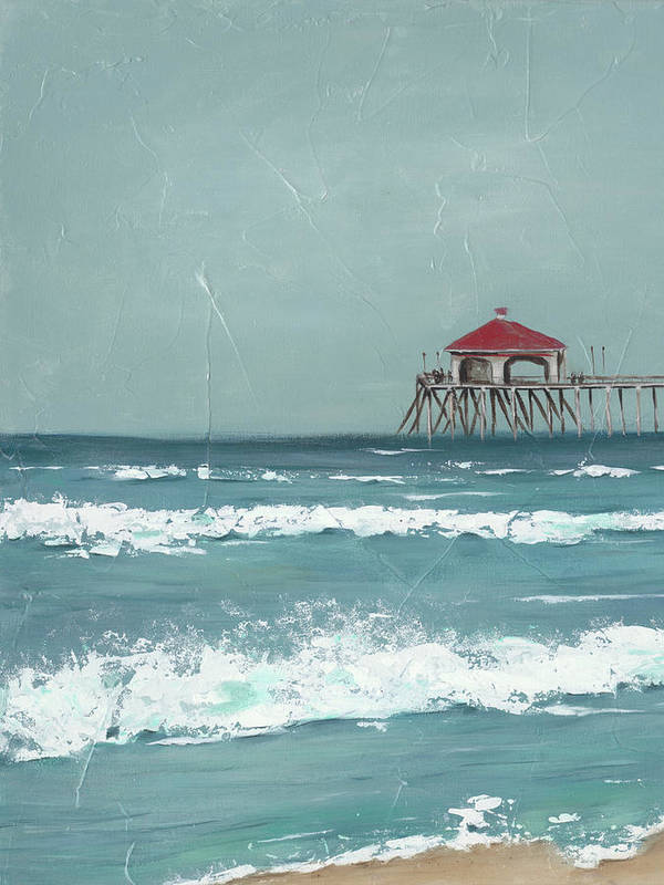 fishing pier artwork 10 Bedroom Wall Art Pieces That Will Brighten Your Mornings