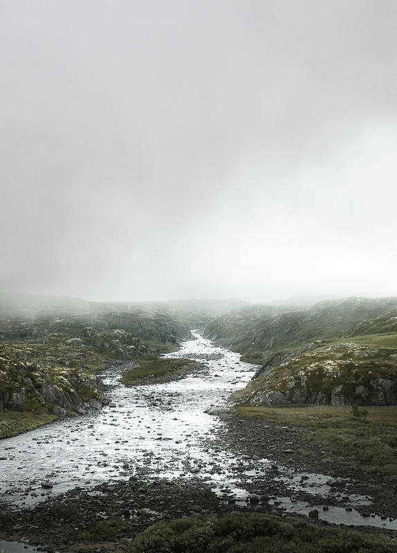 foggy day in norway 10 Bedroom Wall Art Pieces That Will Brighten Your Mornings