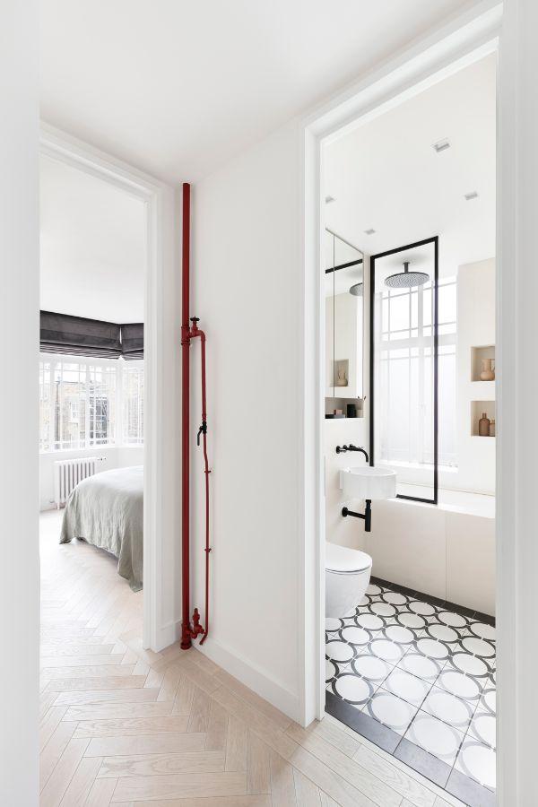 hallway An 80sqm Apartment Renovation by Brosh Architects