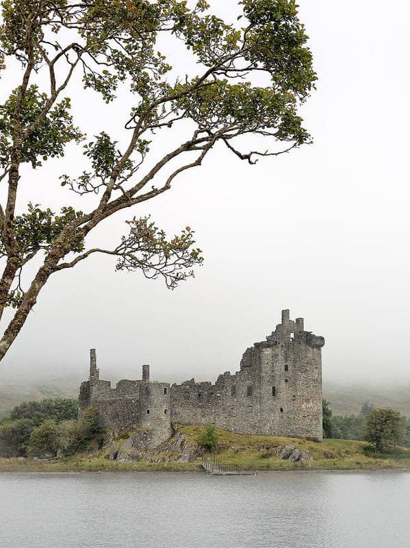 kilchurn castle from the shore of loch awe 10 Bedroom Wall Art Pieces That Will Brighten Your Mornings