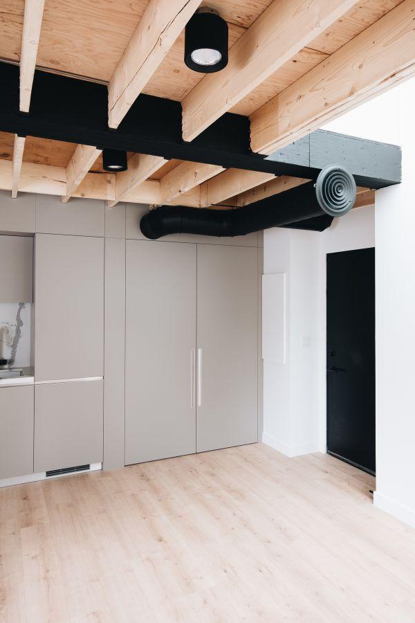 kitchen 1 95 Mackay Laneway House by Gabriel Fain Architects
